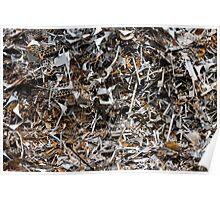 scrap metal Poster