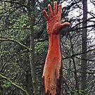 The Giant Hand of Vyrnwy by Yampimon