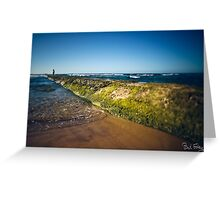 Surfer, Waiting for Waves, East Coast Australia Greeting Card