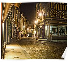 Honfleur at Night Poster