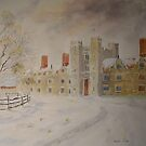 Winter Knowle house - Sevenoaks by Beatrice Cloake