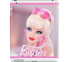 Badass Barbie - Bitches iPad Case/Skin