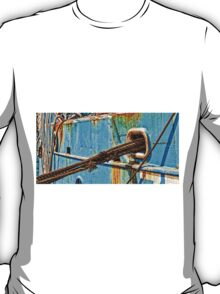 ropes and rust, detail of a ship T-Shirt