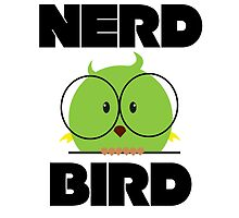 Nerd Bird with glasses by berlinrob