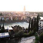 Verona with Roman Theatre by dyanera