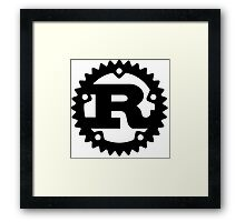 Rust Programming Language Logo Framed Print