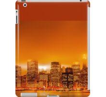 Under A Blood Red Sky - New York Skyline iPad Case/Skin