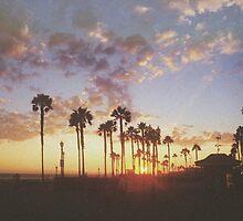 California Sunset by Rachel Marshall