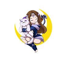 Mirana - princess of the moon by keterok