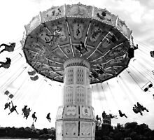 Swing ride, Stockholm by ElinCST