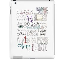 The Great Prophesy iPad Case/Skin