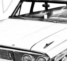 1964 Ford Galaxy Country Station Wagon Illustration Sticker