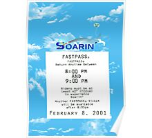 Soarin' FastPass Poster