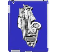 1938 Cadillac Lasalle Illustration iPad Case/Skin