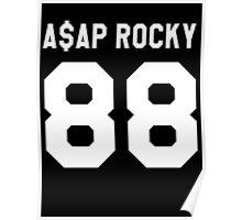 A$AP Rocky 88 Poster