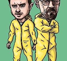 Walt and Jesse by Ben Farr