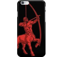 Red Centaur Aiming High T-Shirt by Cheerful Madness!! iPhone Case/Skin