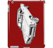 1966 Pontiac Lemans Car Illustration iPad Case/Skin