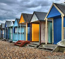 Beach huts by Southernlass
