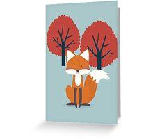 Foxy Friend Greeting Card