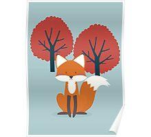 Foxy Friend Poster