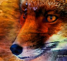 Fabulous Foxes:  On the Alert by Bunny Clarke