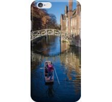 Mathematical Bridge, Cambridge iPhone Case/Skin