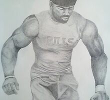 Terrence McGee #24 - Buffalo Bills by Lorelle Gromus