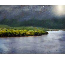 Star-Spangled River Photographic Print