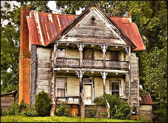 This is no Prefab Structure ... Built the Old Fashioned Way by © Bob Hall