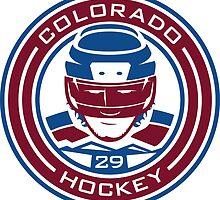 Colorado Hockey #29 by pcstuff