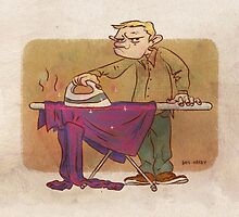 ironing by br0-harry