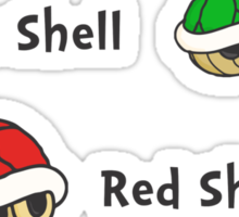 One Shell Two Shell Sticker