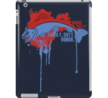 Tully House Game of Thrones Shirt iPad Case/Skin