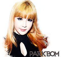 PARK BOM KPOP 2NE1 BLACKJACK by ChiSugoi