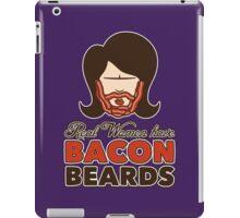 Bacon Beard (women's version) iPad Case/Skin