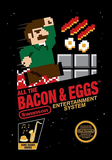 All the Bacon and Eggs by mikehandyart