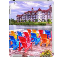 The dock at Blue Mountain iPad Case/Skin