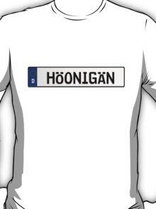 Euro Plate - HOONIGAN T-Shirt