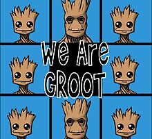 Brady Bunch Groot! by circletoons