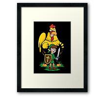 The Legend of Ernie Framed Print