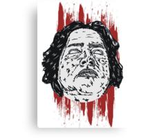 Beheaded  Canvas Print