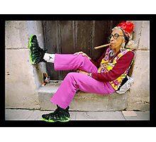 Sneaker Grandma Photographic Print