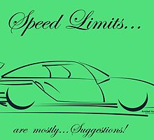 SPEED LIMITS...are mostly SUGGESTIONS! by Kricket-Kountry