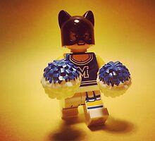 Catwoman Cheerleader by DannyboyH