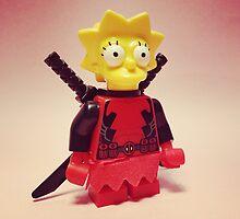 Lisa / Deadpool by DannyboyH