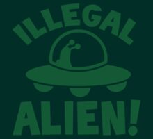 Illegal alien! by jazzydevil