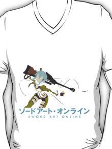 Sinon Minimalistic - Sword Art Online 2  T-Shirt