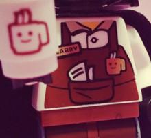 Darth Coffee Sticker