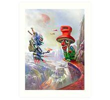 Snailmail Art Print